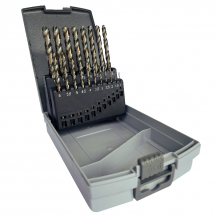 Set HSS-Co 1-10mm x 0.5mm 19Pc JOBBER DRILLS