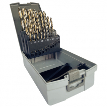 Set HSS-Co 1-13mm x 0.5mm 25Pc JOBBER DRILLS