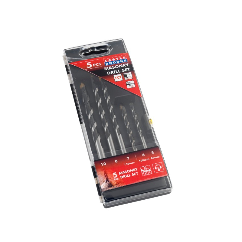 Masonry Drill Bits & Sets - Straight Shank