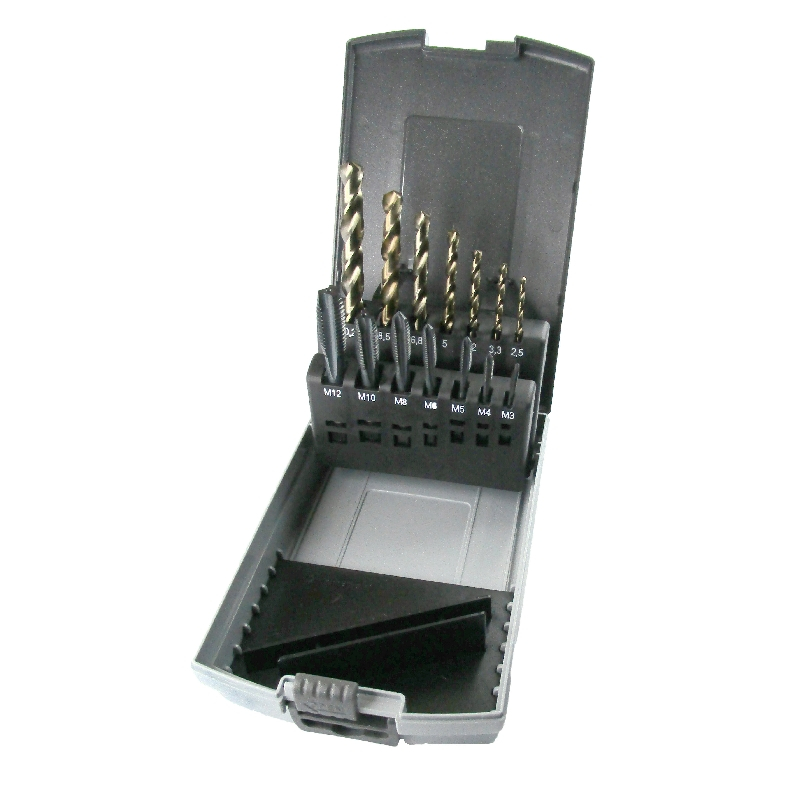 Spiral Point Taps & Drill Set