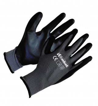 Nitrile Foam Grip Gloves