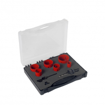 HK10 10pc Plumbers Kit of Holesaw Kits